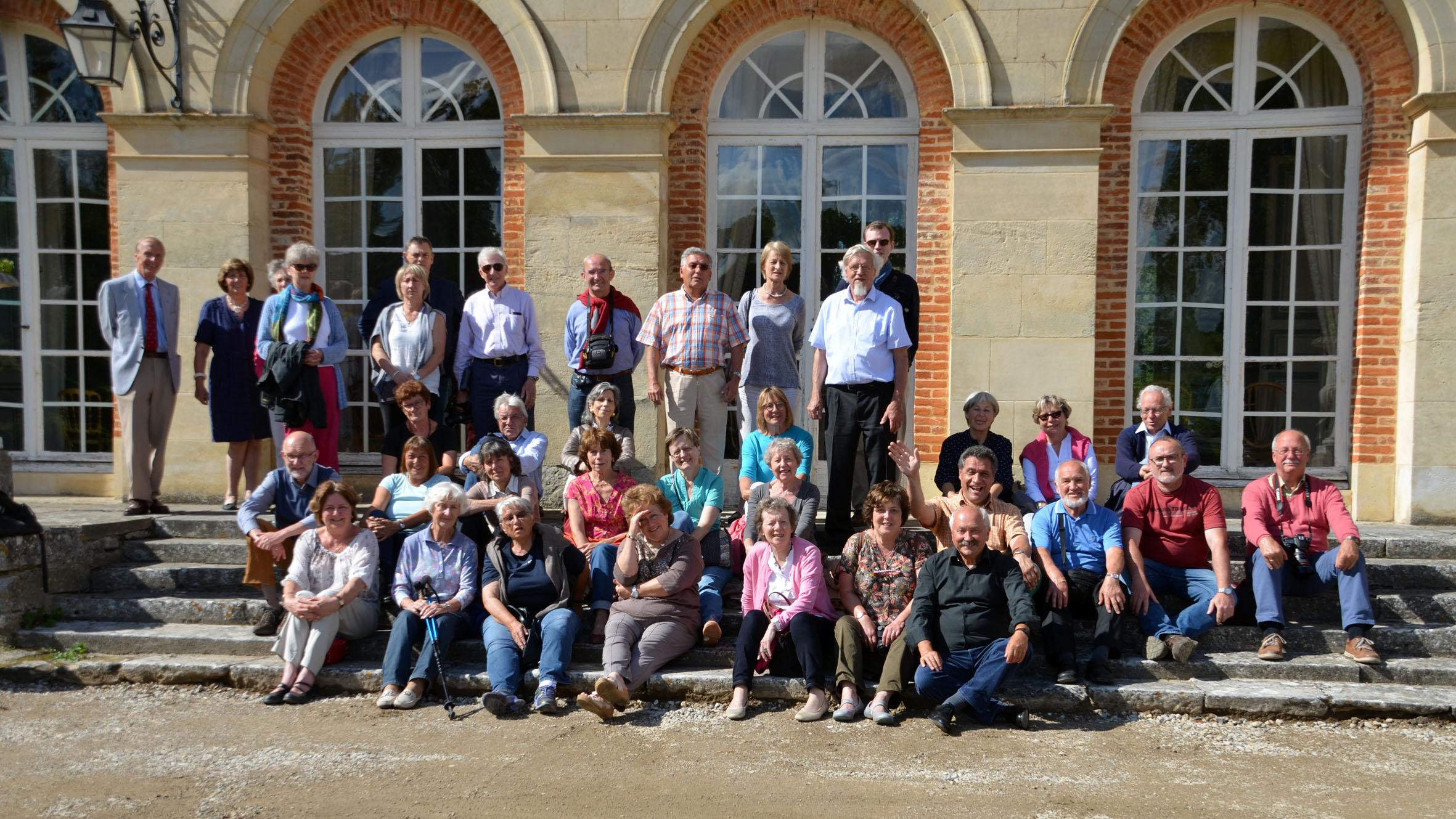 Alle Teilnehmer des Treffens 2016 in Frankreich